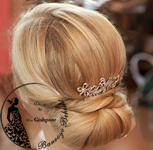 شنیون ساده نوعی از مدل جمع شده مو به صورت ساده و زیبا میباشد شنیونهای ساده معمولا در پشت سر و متمایل به پایین مدل میشوند.